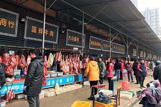 Mercado chino.