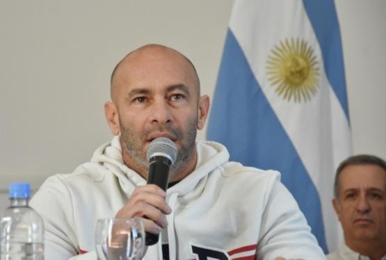 El Ministro de seguridad Federico Massoni