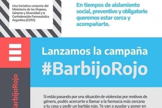 Campaña #BarbijoRojo