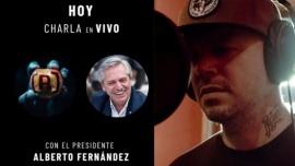 Residente entrevistará al presidente Fernández