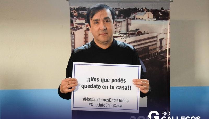 El intendente de Río Gallegos Pabo Grasso.