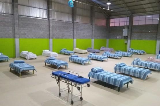 Gimnasio Güemes con 50 camas.