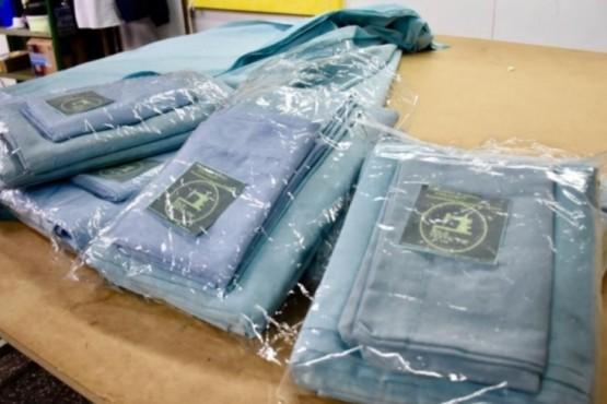 El Polo Textil donará 50 juegos de sábanas al Hospital Zonal