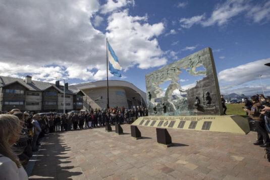 Monumento a los Caídos en Malvinas en Tierra del Fuego.