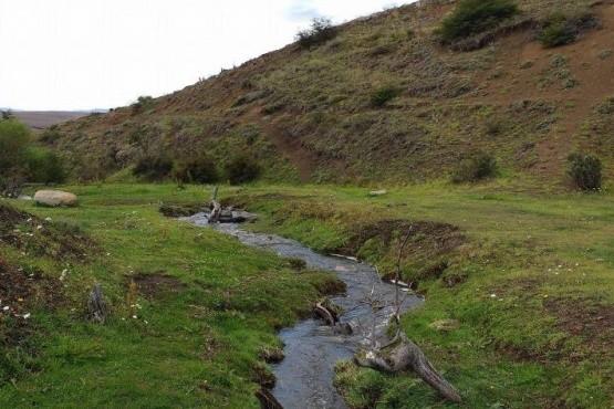 El arroyo Santa Flavia.