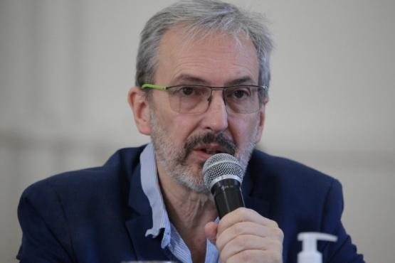 El titular de la cartera sanitaria provincial, Fabián Puratich