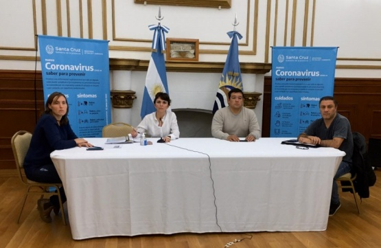 Reunión del Gobierno Provincial.