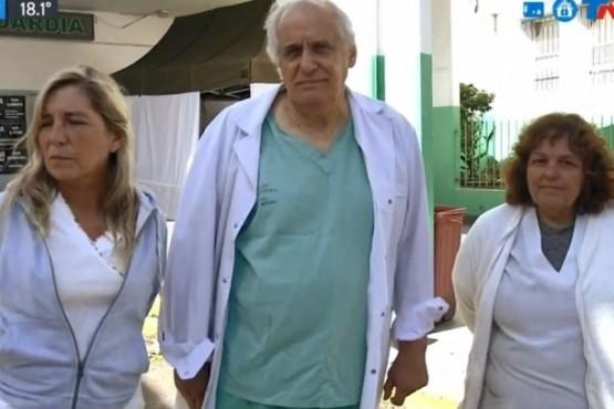 Los médicos del Hospital de Quilmes.