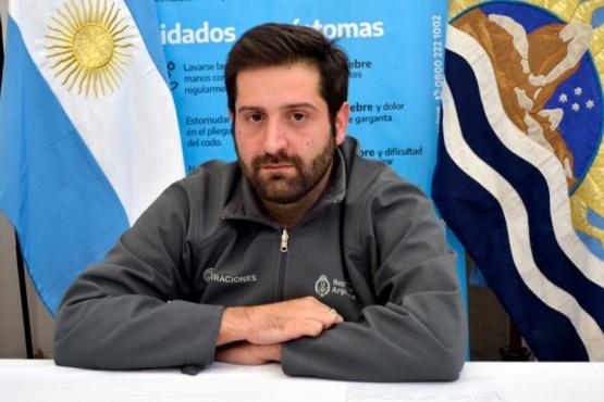 El Delegado en Santa Cruz de Migraciones, Gonzalo Chute