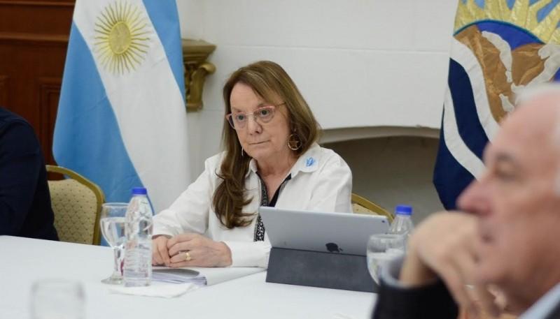 Alicia encabezó una nueva reunión del COE Provincial y Legisladores