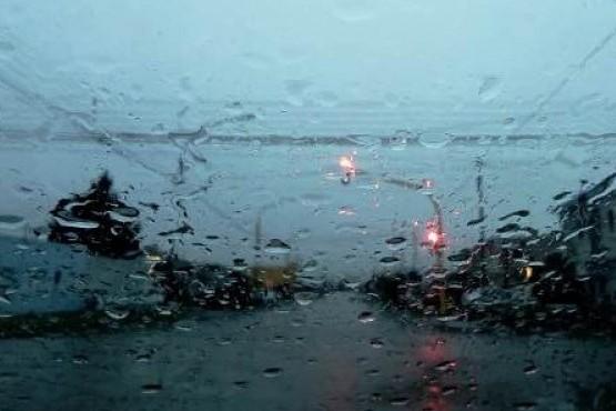 Lluvias en Río Gallegos.