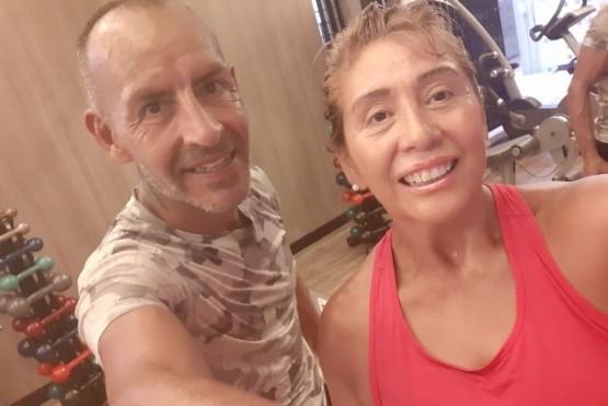La pareja viajó el 9 de marzo a Brasil