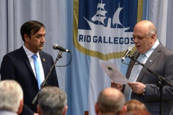 Pablo Grasso y Roberto Giubetich (foto archivo).)