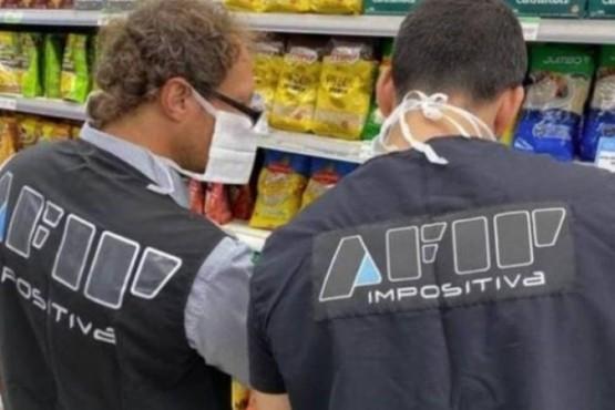 Control de precios por parte de AFIP. (archivo)