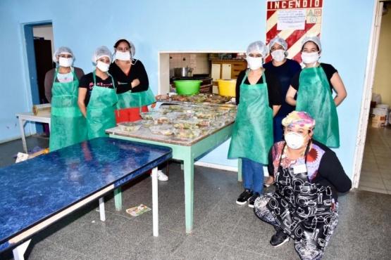 La Defensoría Pública destacó el trabajo del Municipio en materia de ayuda alimentaria