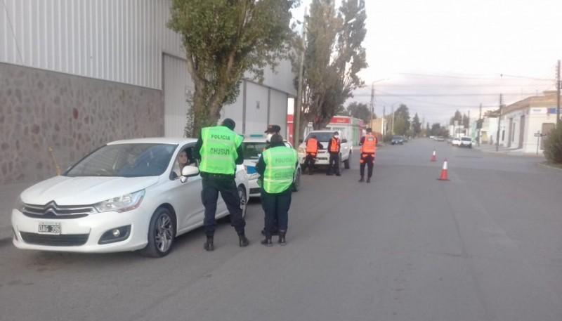 Cinco autos fueron retenidos por la Policía