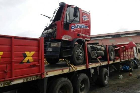 El camión sería trasladado a la provincia de Buenos Aires.