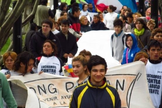 Marcha blanca, Río Gallegos 2016.