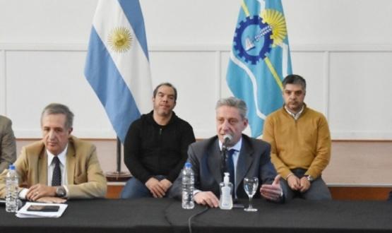 Conferencia de prensa de Provincia.