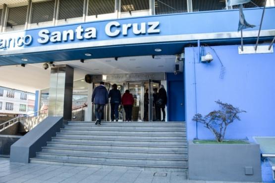 Banco Santa Cruz. (C.R)N