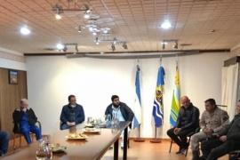 El Estado Provincial articula con los COE de Perito Moreno y Los Antiguos