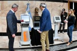 Chubut recibió nuevos respiradores y ecógrafos portátiles de Nación