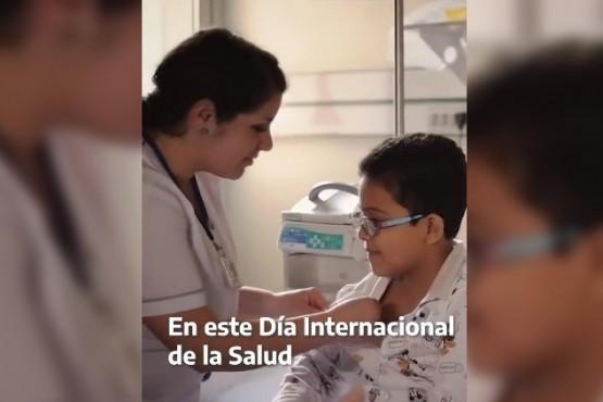 """Alberto por el Día Mundial de la Salud: """"Hagamos algo por ellos: quedémonos en casa"""""""