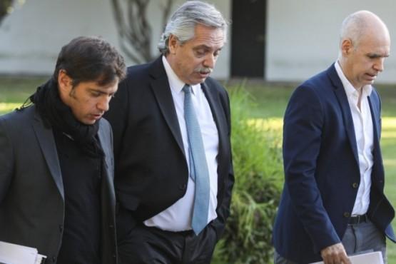 Alberto Fernández en videoconferencia con los Gobernadores