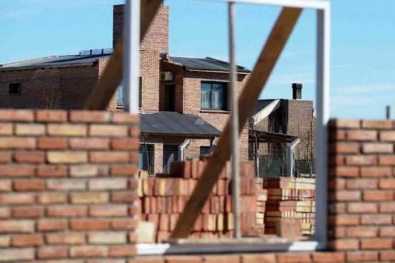 Casa en construcción (foto ilustrativa).