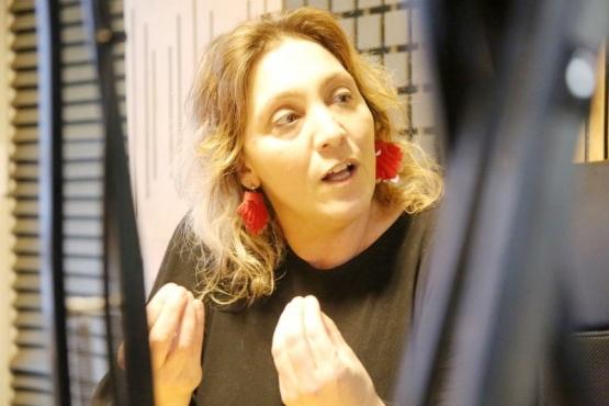 Verónica De Cristófaro, directora del hospital de alta complejidad.
