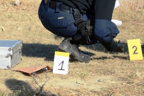 El arma fue secuestrada en la esquina de las calles 3 y 6 del San Benito. (Foto: F.C.)