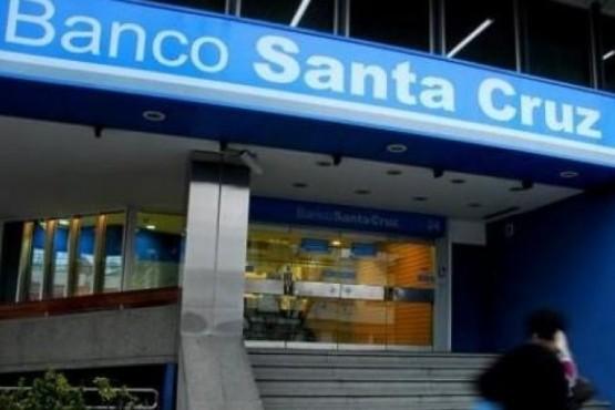 Banco Santa Cruz.
