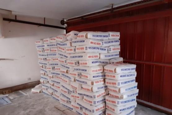 Molinos Balcarce donó 250 kilos de harina al Municipio