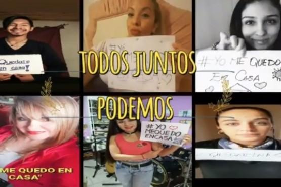 #QuédateEnCasa: la cumbia de Río Gallegos unida en tiempos de cuarentena