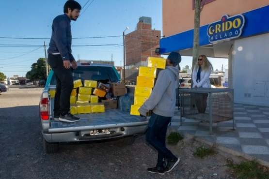 Comerciantes e instituciones hacen donaciones para asistir a sectores vulnerables