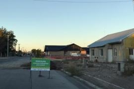El Municipio continúa con la construcción de cuatro viviendas para el personal de Salud
