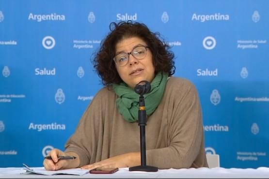 Carla Vizzotti, Secretaria de Acceso a la Salud de la Nación.