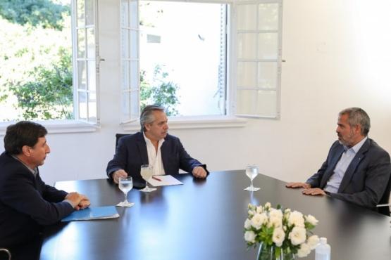 El Presidente recibió al empresario Luis Pérez Companc