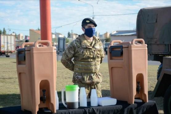 """El Ejército Argentino acompaña a quienes """"Nos cuidan"""""""
