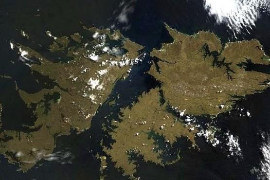 Las Islas Malvinas.