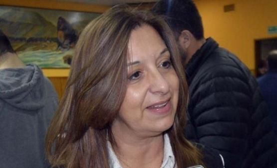 La Diputada Provincial, Andrea Aguilera