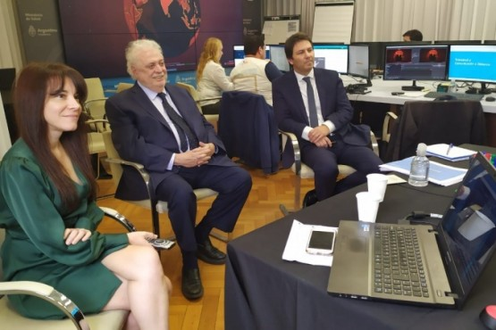 Salud presentó el programa de Telecovid para asistencia a distancia