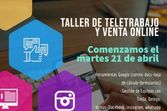 D'Amico y Zimatech brindarán taller de teletrabajo y ventas online