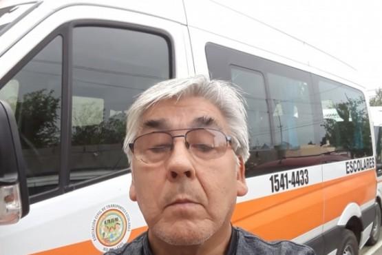 Transportistas escolares de Río Gallegos.