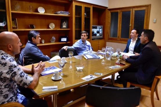 Maderna se reunió con representantes de concesionarias