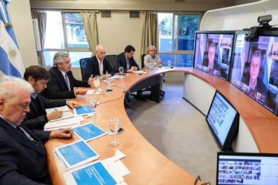 Alberto convocó a una reunión con los Gobernadores