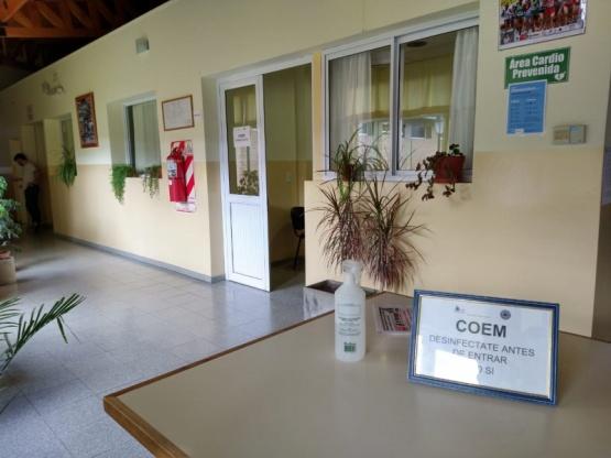 Oficina del COEM.