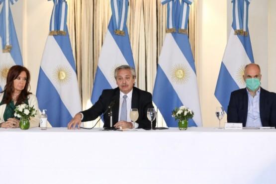 Conferencia del Presidente de la Nación.
