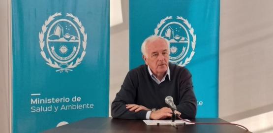 El Ministro de Salud, Juan Carlos Nadalich.