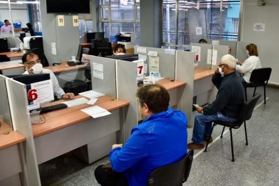 El sector de rentas del Municipio brinda atención al público